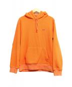 SUPREME×Polartec(シュプリーム×ポーラテック)の古着「Polartec Hooded Sweatshirt」 オレンジ