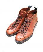 NEPCO FOOTWEAR(ネプコフットウェア)の古着「9EYE モンキーブーツ」|ブラウン