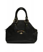 Vivienne Westwood ANGLOMANIA(ヴィヴィアンウエストウッド アングロマニア)の古着「ハンドバッグ」|ブラック
