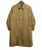 ORCIVAL(オーチバル)の古着「ステンカラーコート」|ベージュ