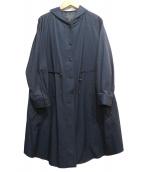 AIRPAPEL(エアパペル)の古着「ダウンライナーフーデッドコート」|ネイビー