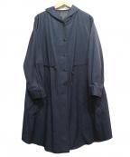 AIRPAPEL(エアパペル)の古着「ダウンライナーフーデッドコート」 ネイビー