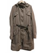Comptoir des Cotonniers(コントワー デ コトニエ)の古着「フーデッドコート」|グレー
