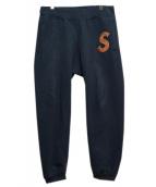 SUPREME(シュプリーム)の古着「S LOGO SWEAT PANTS」|ネイビー