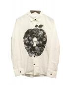 SHAREEF(シャリーフ)の古着「長袖シャツ」|ホワイト