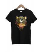 KENZO(ケンゾー)の古着「タイガープリントTシャツ」|ブラック