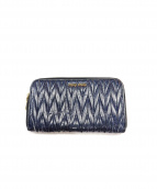 MIU MIU(ミュウミュウ)の古着「長財布」|ネイビー