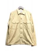 YAECA(ヤエカ)の古着「シャツジャケット」|ベージュ