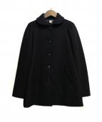 SHIPS(シップス)の古着「パフショルダーコート」|ブラック