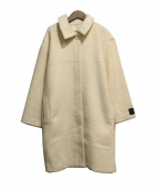 liflattie ships(リフラティ シップス)の古着「ウールコート」|アイボリー