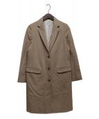STEVEN ALAN(スティーブンアラン)の古着「ウールコート」|ベージュ