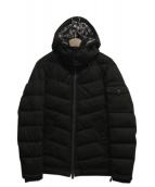 BLACK LABEL CRESTBRIDGE(ブラックレーベルクレストブリッジ)の古着「インナーベスト付中綿ジャケット」|ブラック