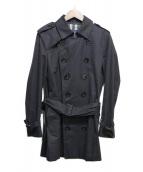 BURBERRY(バーバリー)の古着「トレンチコート」|ブラック