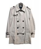 BURBERRY BLACK LABEL(バーバリーブラックレーベル)の古着「キルティングライナー付トレンチコート」|ベージュ