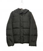ef-de(エフデ)の古着「フーデッドダウンジャケット」|ブラック
