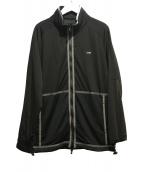 AKM(エイケイエム)の古着「ジップアップジャケット」|ブラック