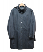 CARA O CRUZ(キャラオクルス)の古着「ライナー付コート」|ネイビー