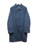 Viaggio Blu(ヴィアッジョブル)の古着「Aラインコート」|ネイビー