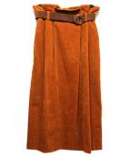 G.V.G.V(ジーヴイジーヴイ)の古着「スカート」 ブラウン