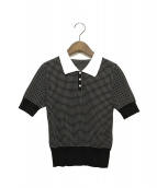 FOXEY(フォクシー)の古着「SweaterLady Polo」|ブラック