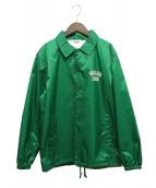 X-LARGE(エクストララージ)の古着「バックロゴコーチジャケット」|グリーン