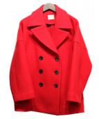 Demi-Luxe BEAMS(デミルクスビームス)の古着「Pコート」 レッド