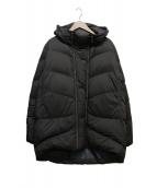 GOLDWIN(ゴールドウィン)の古着「HOODED DOWN COAT」|ブラック