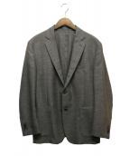 Cantarelli(カンタレリ)の古着「リネン混ジャケット」|グレー