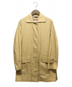 MACKINTOSH(マッキントッシュ)の古着「ショートステンカラーコート」|ベージュ