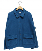 naissance(ネサーンズ)の古着「フリースジャケット」 ブルー