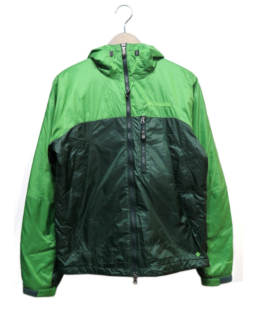 Columbia(コロンビア)Columbia (コロンビア) 中綿ジャケット グリーン サイズ:Sの古着・服飾アイテム