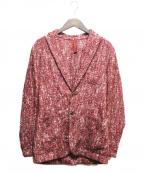 ernesto(エルネスト)の古着「ニットジャケット」|レッド