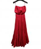 MARIHA(マリハ)の古着「草原の夢のドレス」 レッド