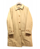 MHL(エムエイチエル)の古着「ダウンライナー付ステンカラーコート」 ベージュ