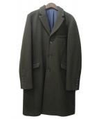 VICTIM(ヴィクティム)の古着「チェスターコート」|カーキ