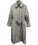 NATURAL BEAUTY(ナチュラルビューティー)の古着「ポリエステルツイルライナー付2wayコート」 グレー