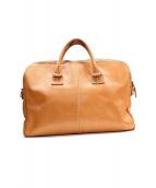 土屋鞄(ツチヤカバン)の古着「レザーブリーフケース」|ベージュ