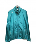 NIKE(ナイキ)の古着「ウーブンアンラインドフルジップジャケット」|グリーン