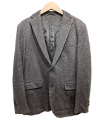 JOSEPH HOMME(ジョセフオム)の古着「ウールアンコンジャケット」|ブラック