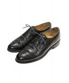 Lloyd Footwear(ロイドフットウェア)の古着「プレーントゥシューズ」 ブラック