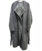 LAUTRE AMONT(ロートレアモン)の古着「リバーシブルコート」 グレー