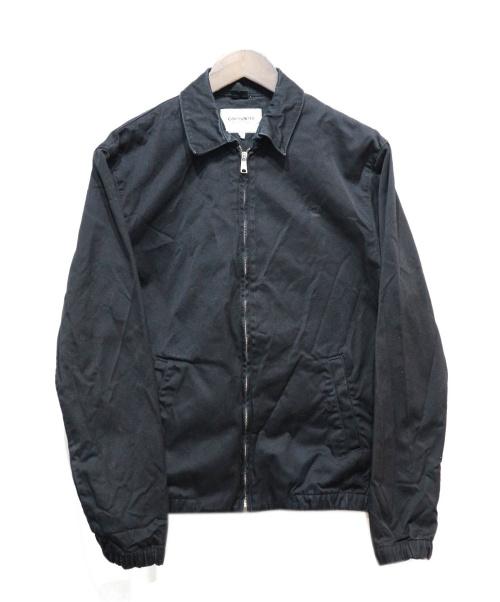 CARHARTT WIP(カーハート)CARHARTT WIP (カーハート) ワークジャケット ブラック サイズ:Sの古着・服飾アイテム