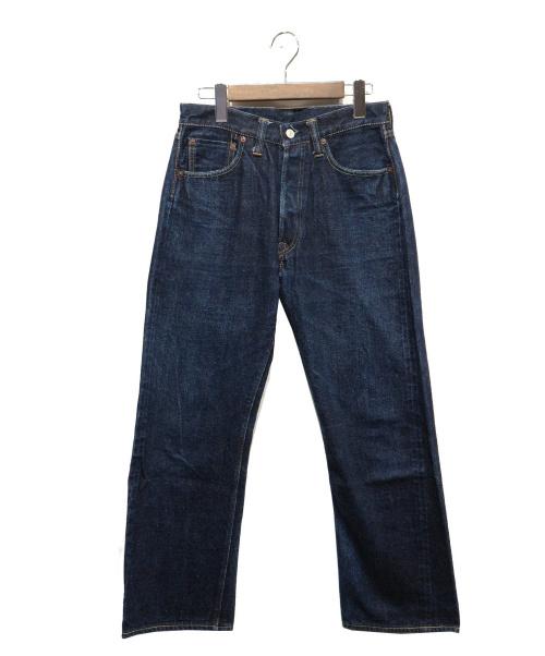 WAREHOUSE(ウェアハウス)WAREHOUSE (ウェアハウス) セルビッジデニム インディゴ サイズ:W30L32の古着・服飾アイテム