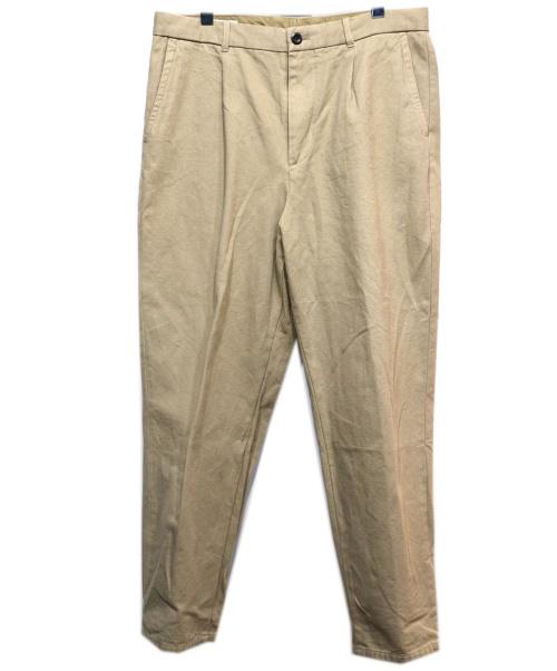 STEVEN ALAN(スティーヴンアラン)STEVEN ALAN (スティーヴンアラン) ORGANIC SUPER BAGGY TAPERED ベージュ サイズ:XLの古着・服飾アイテム
