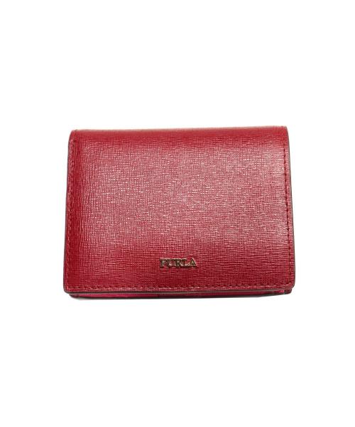 FURLA(フルラ)FURLA (フルラ) 2つ折り財布 ボルドー BABYLONの古着・服飾アイテム