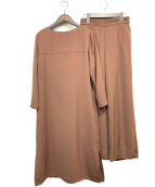 Mila Owen(ミラオーウェン)の古着「セットアップブラウス」|ブラウン