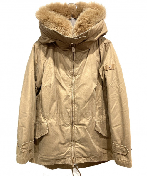 PEUTEREY(ピューテリー)PEUTEREY (ピューテリー) ダウンコート ブラウン サイズ:42の古着・服飾アイテム
