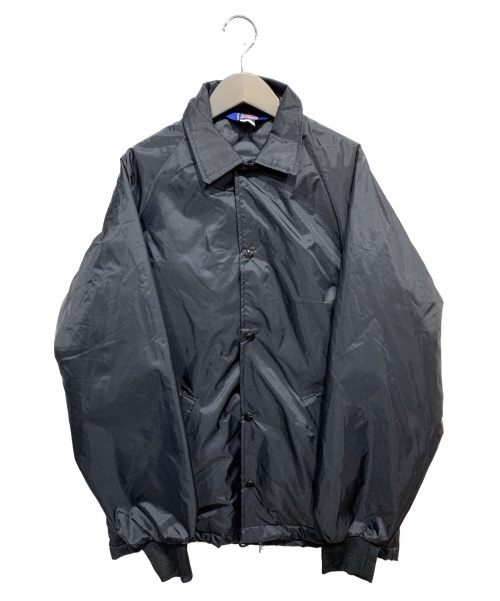 ROTT WEILER(ロットワイラー)ROTT WEILER (ロットワイラー) キルティングコーチジャケット ブラック サイズ:XSの古着・服飾アイテム