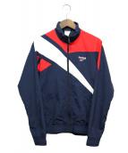 REEBOK(リーボック)の古着「ジップアップジャケット」|ネイビー