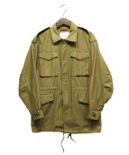 HYKE(ハイク)の古着「ミリタリージャケット」|オリーブ